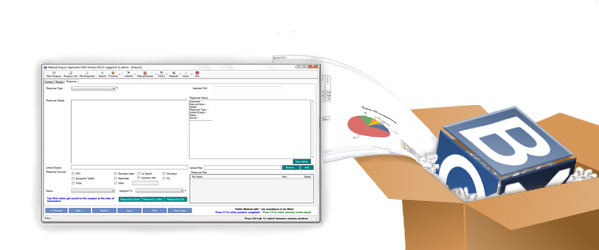 Full Feature medical enquiry system as standard